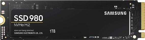 Samsung Memorie MZ-V8V1T0 980 SSD Interno da 1TB, PCIe NVMe M.2