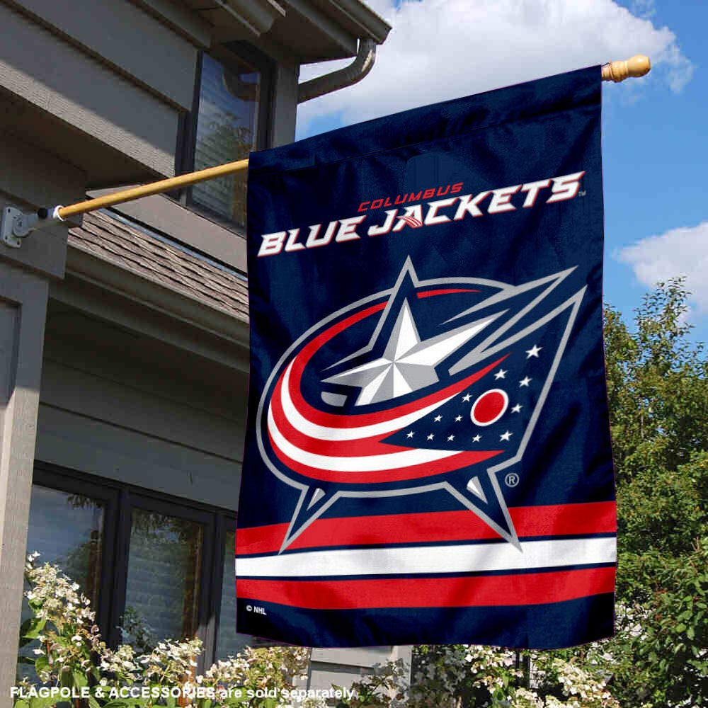 WinCraft Columbus Blue Jackets Two Sided House Flag