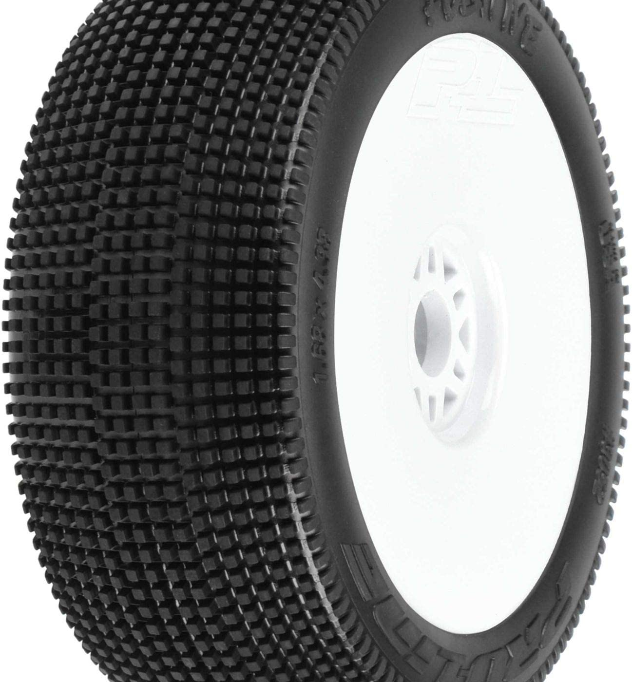 4 Pro-Line 9051-003 LockDown X3 Off-Road 1//8 Buggy Tire F//R