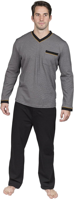 Yugo Sport Pajamas for Men Cotton Knit - Pajama Set – Loungewear - Men's PJ