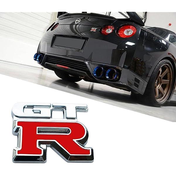 3D Car Emblem Badge Sticker Decal Metal chrome Nismo Nissan 350Z 370Z Juke GT-R