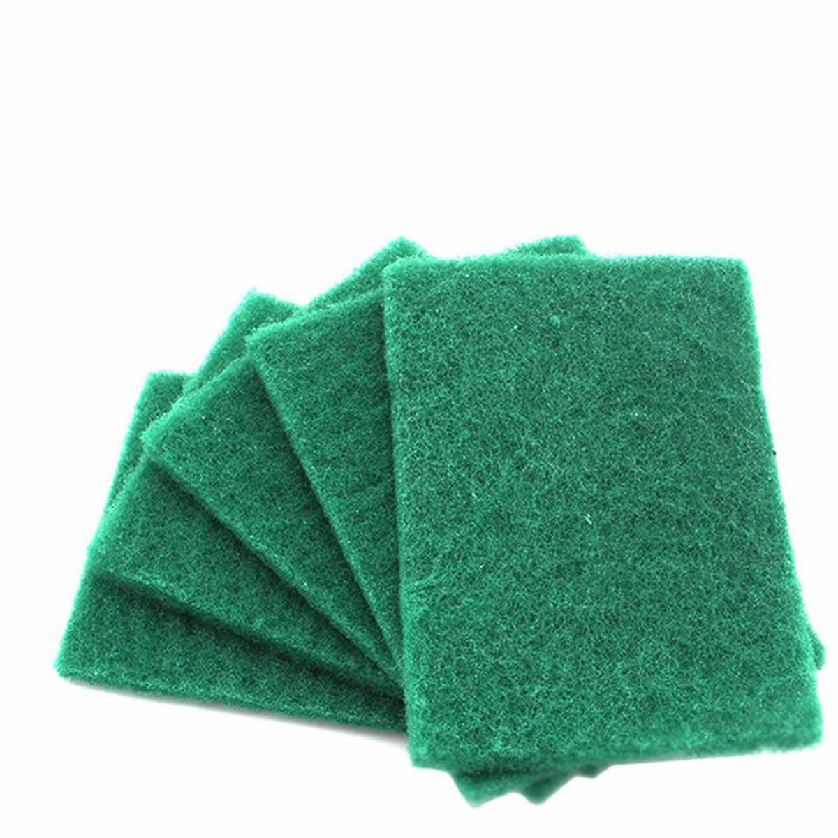 Pack of 20 Heavy Duty Green Catering Kitchen Sponge Scourer Pads Scouring Pad