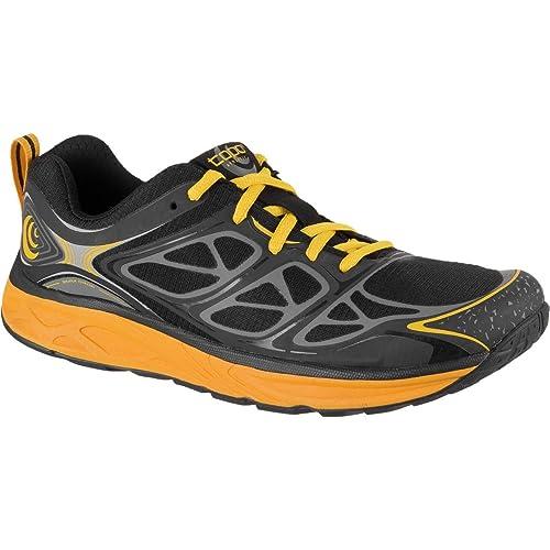 Topo Athletic FLI-Lyte - Zapatillas Hombre, Negro (Negro, (Black/Mango)), 42.5: Amazon.es: Zapatos y complementos