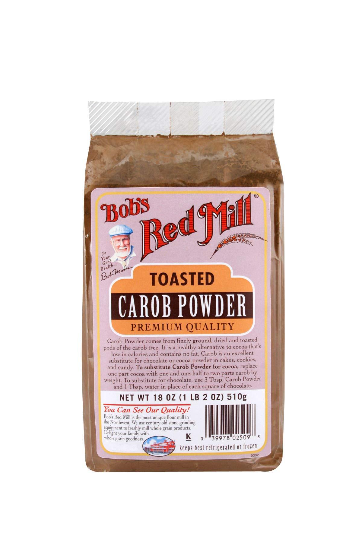 Bob's Red Mill Carob Powder Toasted - 18 oz - 2 pk