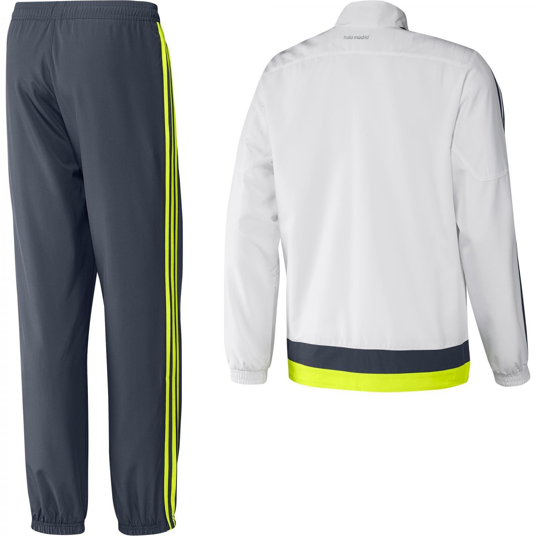adidas Real PR Suit CH - Chándal para Hombre, Color Blanco/Gris ...