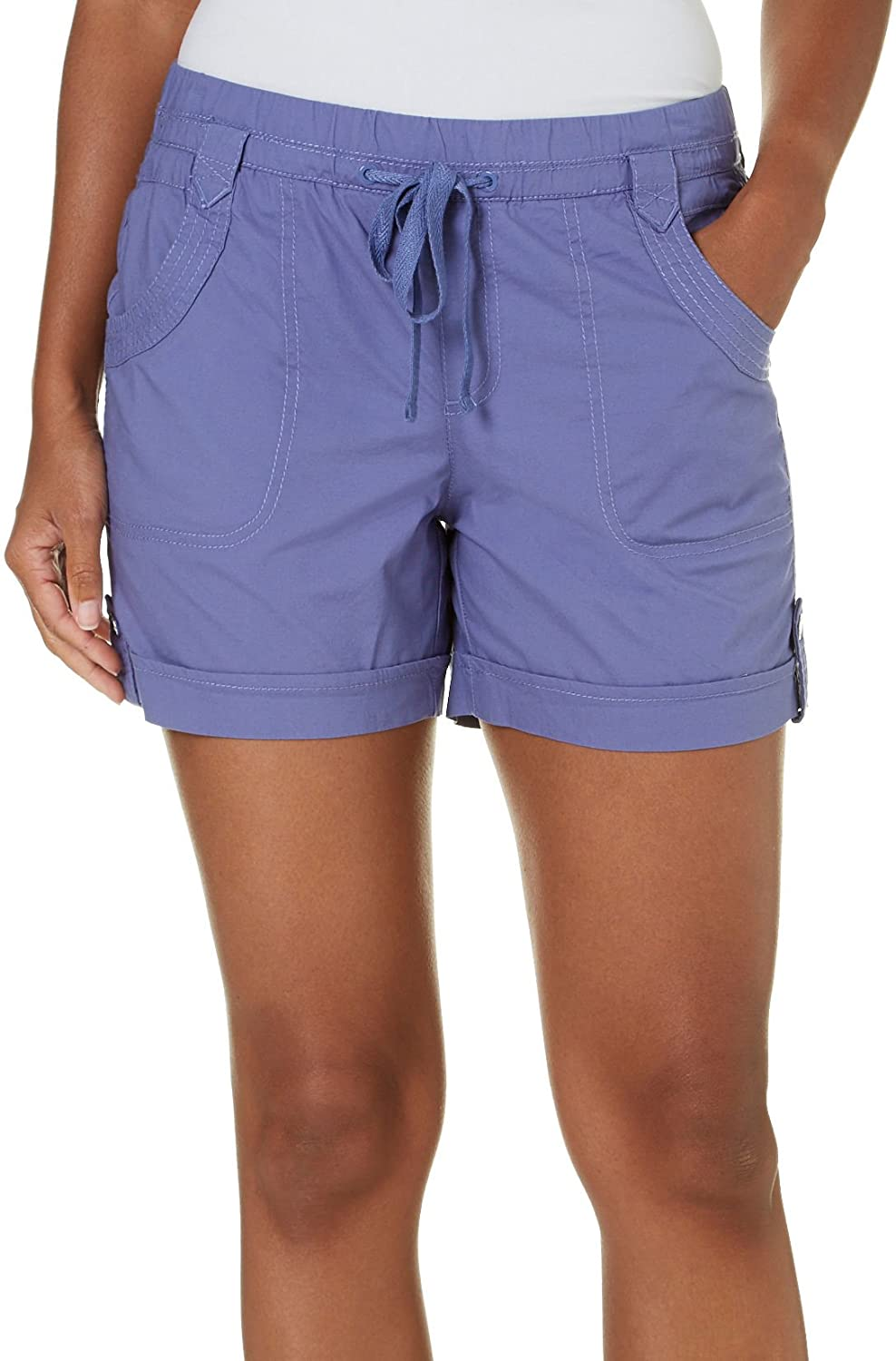 On Sale Gloria Vanderbilt Womens Ava Drawstring Shorts