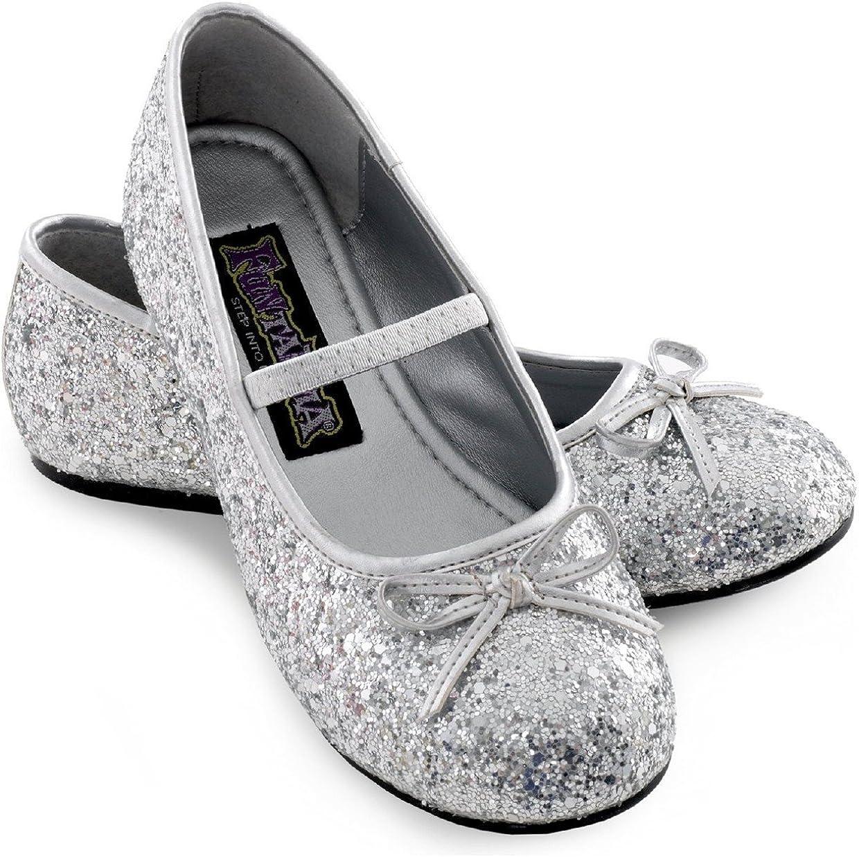 Sparkle Ballerina Child Shoes (silver