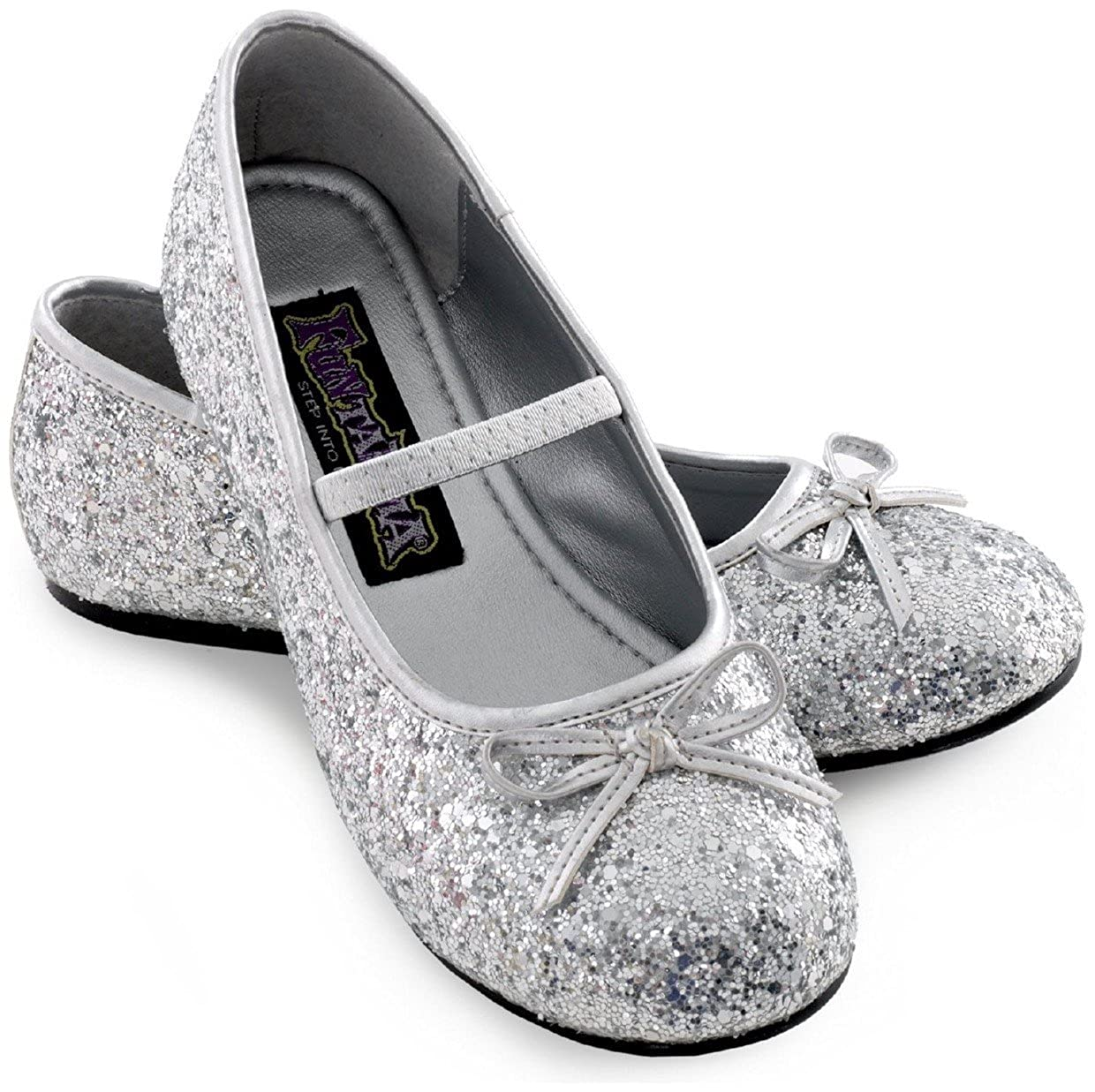 Sparkle Ballerina Child Shoes (silver)