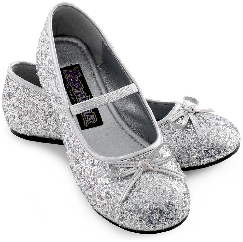 Amazon Sparkle Ballerina Child Shoes silver Clothing