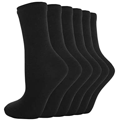 12 Pairs Boys//Girls Ankle Cotton Rich Plain School Socks Shoe Sizes 6-8 4-6 12-3 9-12