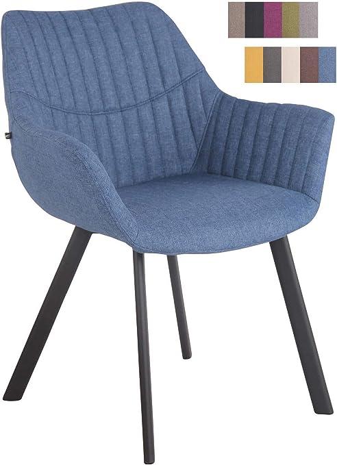 Besucherstuhl Styl Bürostuhl Konferenzstuhl Polsterstuhl Lehnstuhl Stuhl schwarz