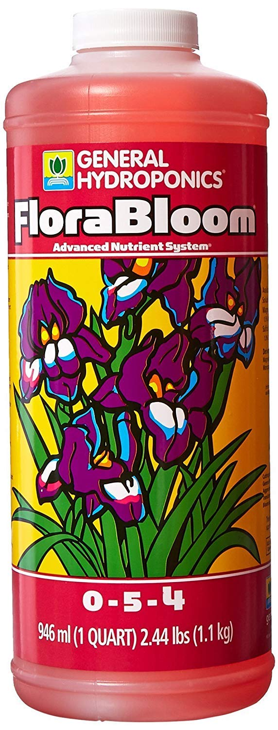 General Hydroponics GH1432 Hydroponics FloraBloom, 1 Quart