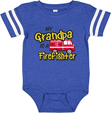inktastic Future Firefighter Like Mommy Long Sleeve Creeper