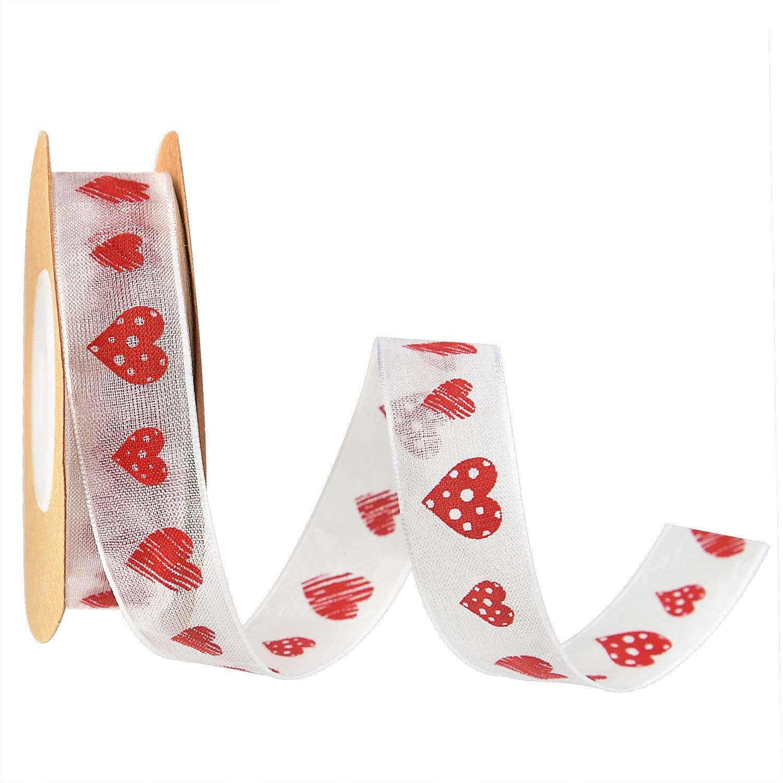 Valentine's Gift Heart Ribbon
