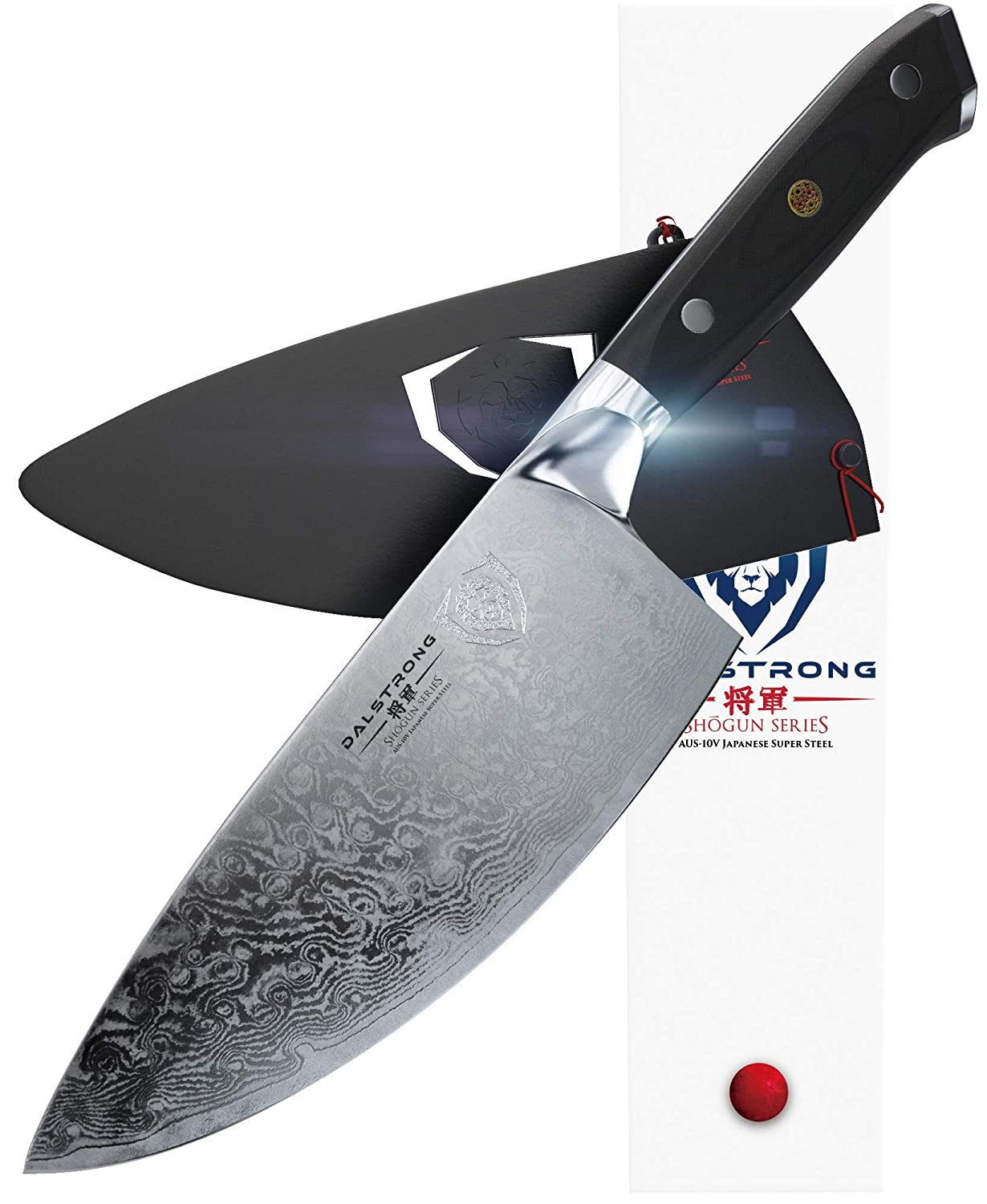 Dalstrong Rocking Herb Knife - Shogun Series - Japanese AUS-10V Super Steel (Vacuum Heat Treated)- 7