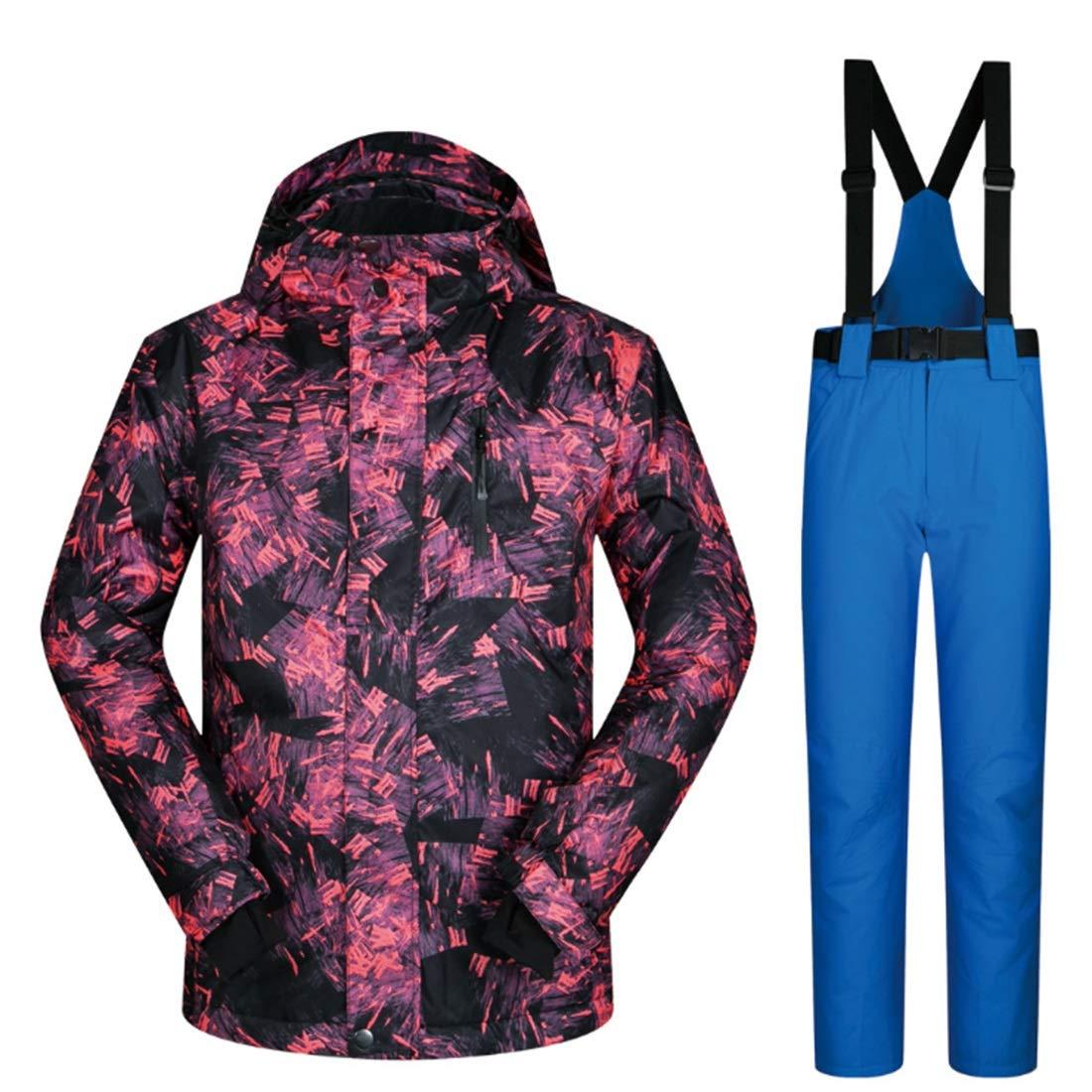 MALLTY Snowsuit da Uomo Winter Giacca Giacca Giacca da Sci e Pantaloni per la Neve da Pioggia Outdoor Hiking (Coloree   04, Dimensione   XXL)B07K7HYR3KXXL 05 | Prezzo Ragionevole  | Moda Attraente  | Moda Attraente  | Numerosi In Varietà  | Alla Moda  | Qualità Af 019432