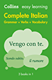 Easy Learning Italian Complete Grammar, Verbs and Vocabulary (3 books in 1) (Collins Easy Learning) (Italian Edition)