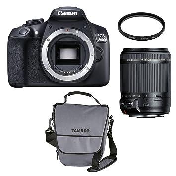 5d0063eb8a979 Canon EOS 1300D Kit mit Objektiv Tamron 18-200mm VC +  Amazon.de  Kamera