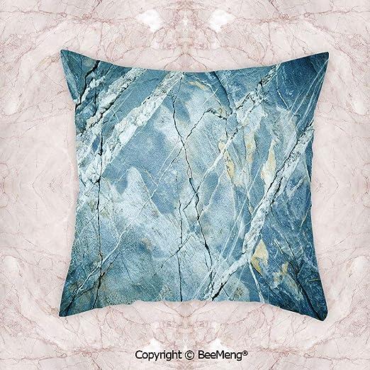 Cojín cuadrado para la cintura, mármol, exquisita piedra de ...