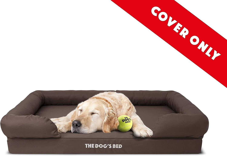 The Dog's Balls Fundas de Repuesto Solo para Cama ortopédica de Perro de Espuma viscoelástica. Fundas de Felpa y Oxford Lavables (Funda Exterior e Interior Impermeable), no Incluye Cama