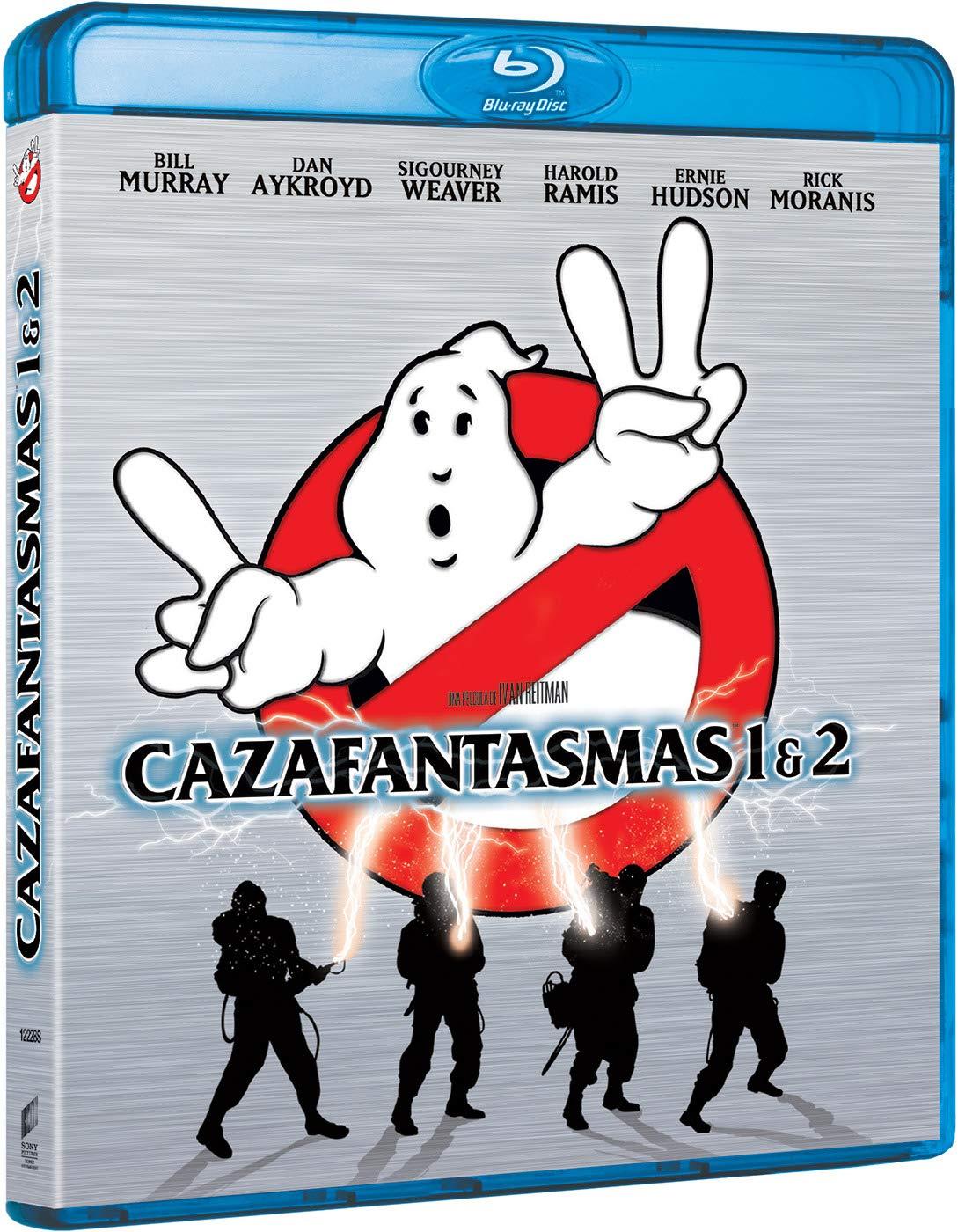 Pack 1+2: Cazafantasmas (Edición 2019) [Blu-ray]: Amazon.es: Bill ...