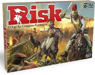 Hasbro Gaming Gaming clasico Risk (Versión Portuguesa) (B7404190 ...