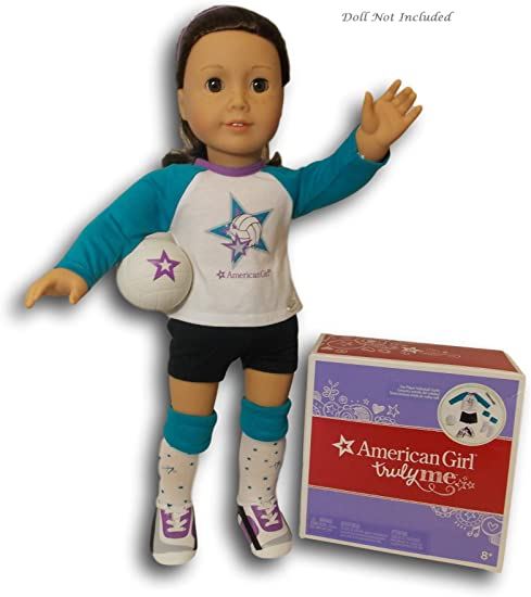 """18/"""" American Girl Doll Clothes LAVENDER SWEATER Star Truly Me ACCESSORIES NEW"""