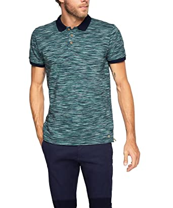 ESPRIT Collection aus Reiner Baumwolle Polo, Grün (Emerald Green ...
