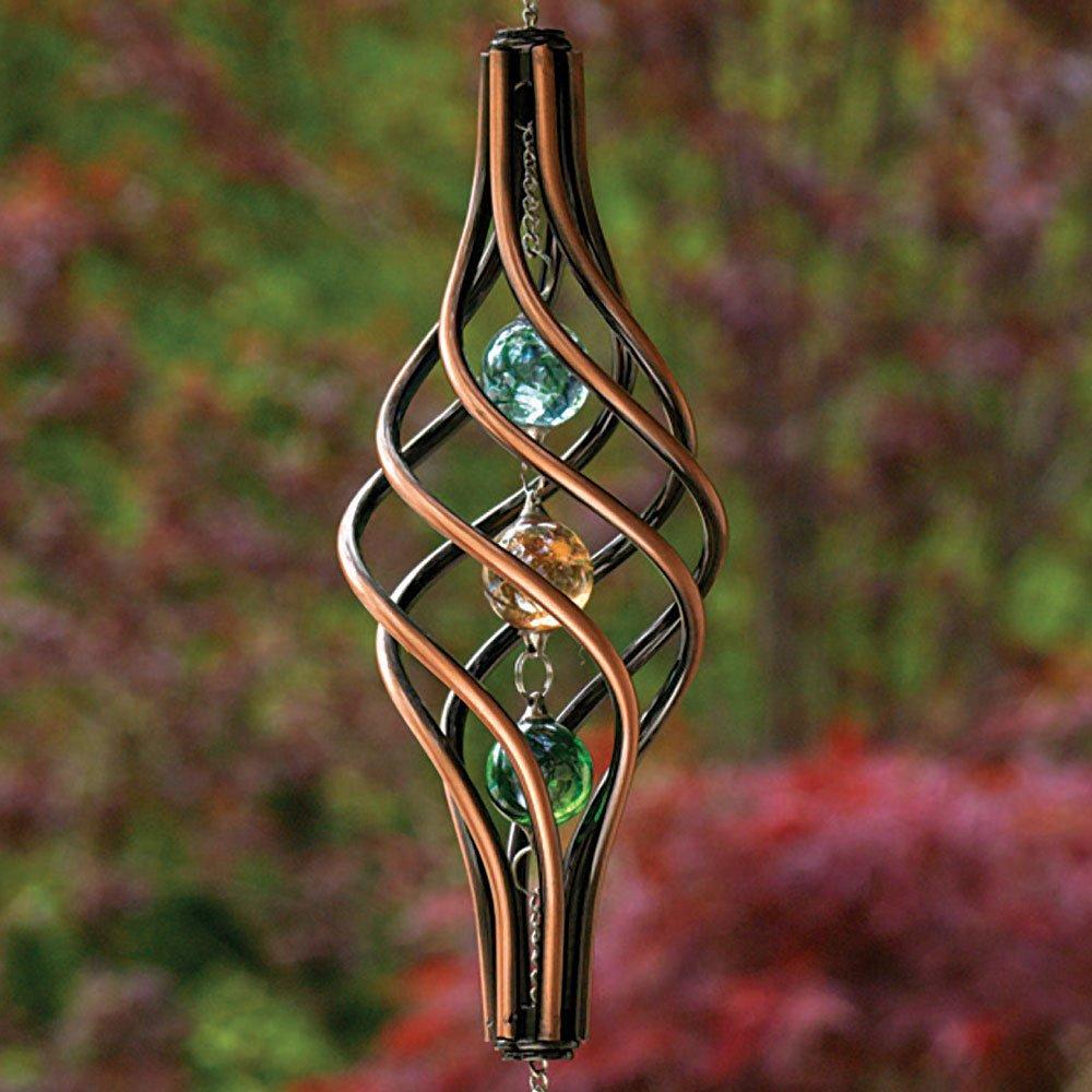 Amazon.com: Bits and Pieces - Copper Toned Wind Ornament - Unique ...