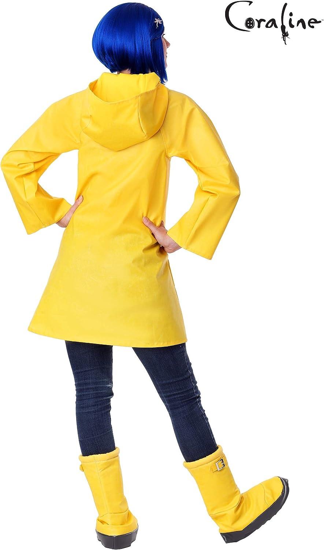 Amazon Com Adult Coraline Costume Clothing