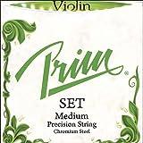 Prim 4/4 Violin String Set - Medium Gauge with Ball-end E