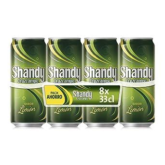 Shandy Cruzcampo Limon Cerveza - Caja de 8 Latas x 330 ml ...