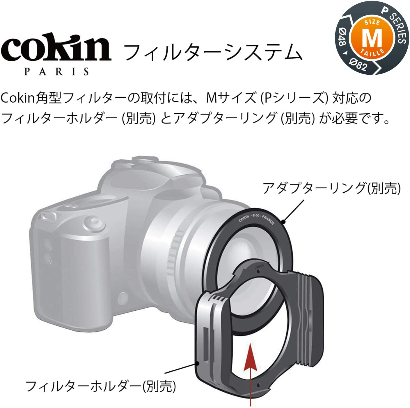 GND8 Cokin Square Filter NUANCES Extreme Includes M R-GND4 Filters Series ND1024 Smart Kit P