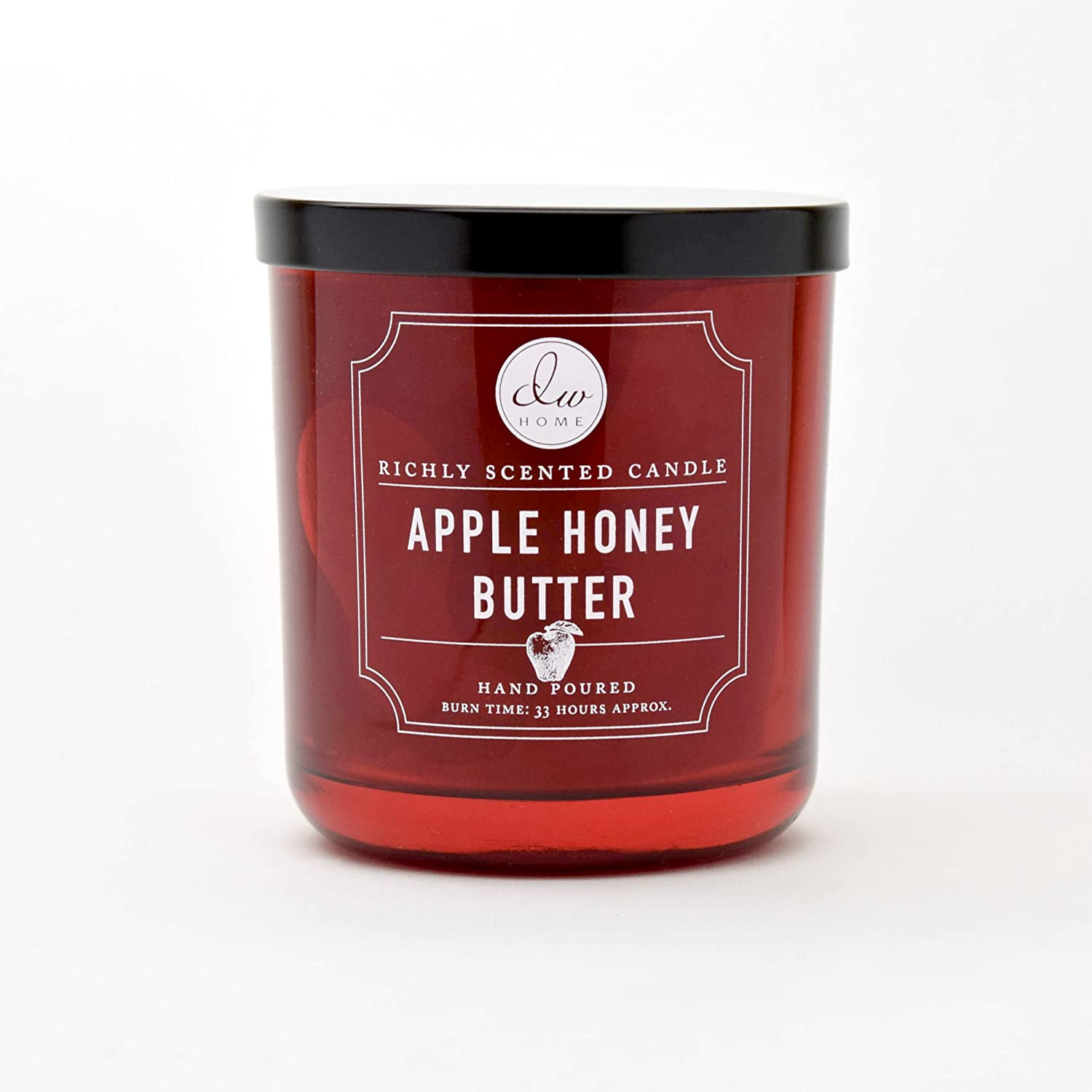 DW Home Medium Single Wick Candle, Apple Honey Butter