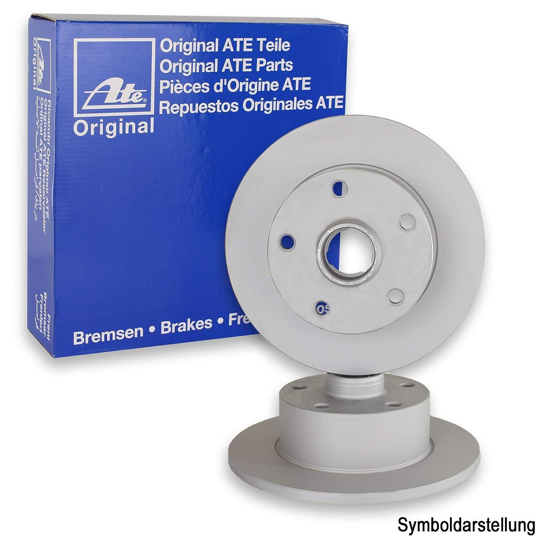 Original ATE Bremsscheiben hinten ATE Bremsbel/äge Bremskl/ötze Bremsenset Bremsenkit Komplettset Hinterachse