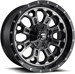 20x9 Fuel Offroad Wheels Crush D561 8x170 20 Offset 125.1 Centerbore - Matte Black/Machine | P# D56120901757 | WHEELS ONLY | NEW | AUTHORIZED DEALER