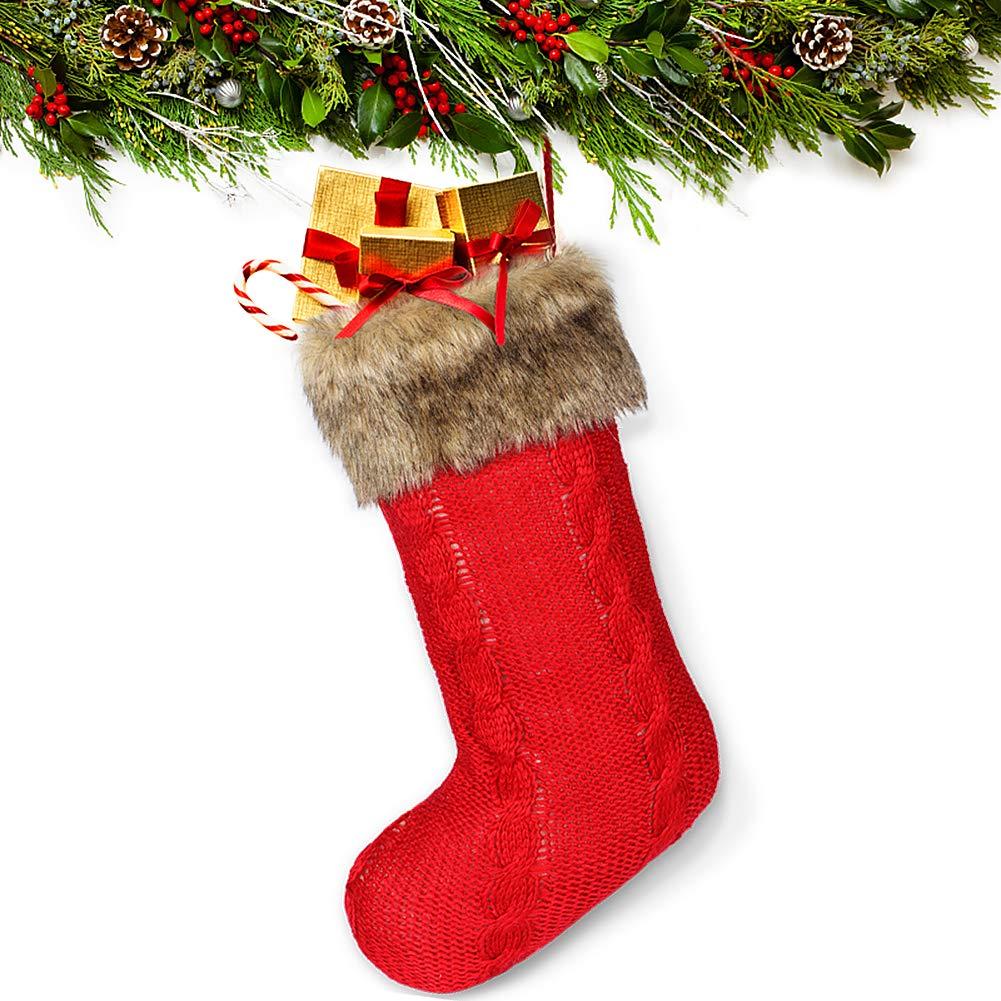 millenniumpaintingfl.com Onshine Wine Red Christmas Stocking with ...
