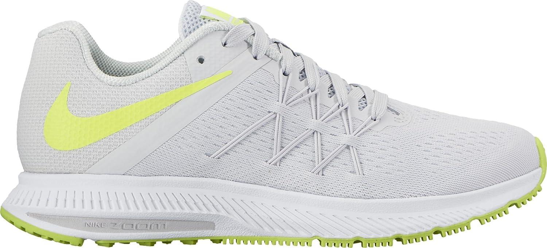 Nike Wmns Zoom Winflo 3, Zapatillas de Running para Mujer, Blanco (Blanco/(Pure Platinum/Volt/White/White) 000), 36.5 EU: Amazon.es: Zapatos y complementos