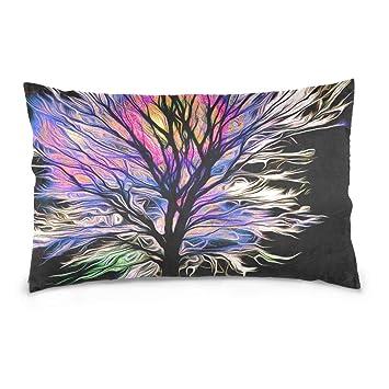 Amazon.com: Pretty Bb - Funda de almohada rectangular con ...