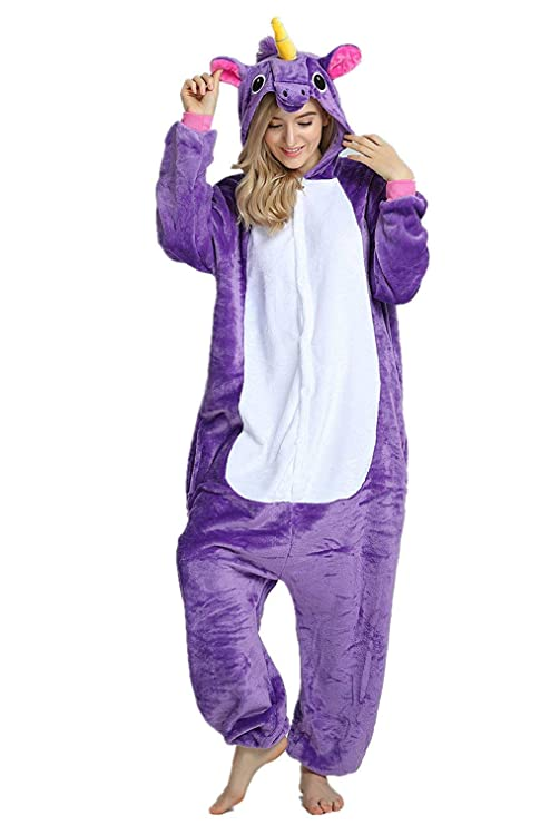 disfraz pijama de unicornio para fiestas halloween carnaval cumpleaños