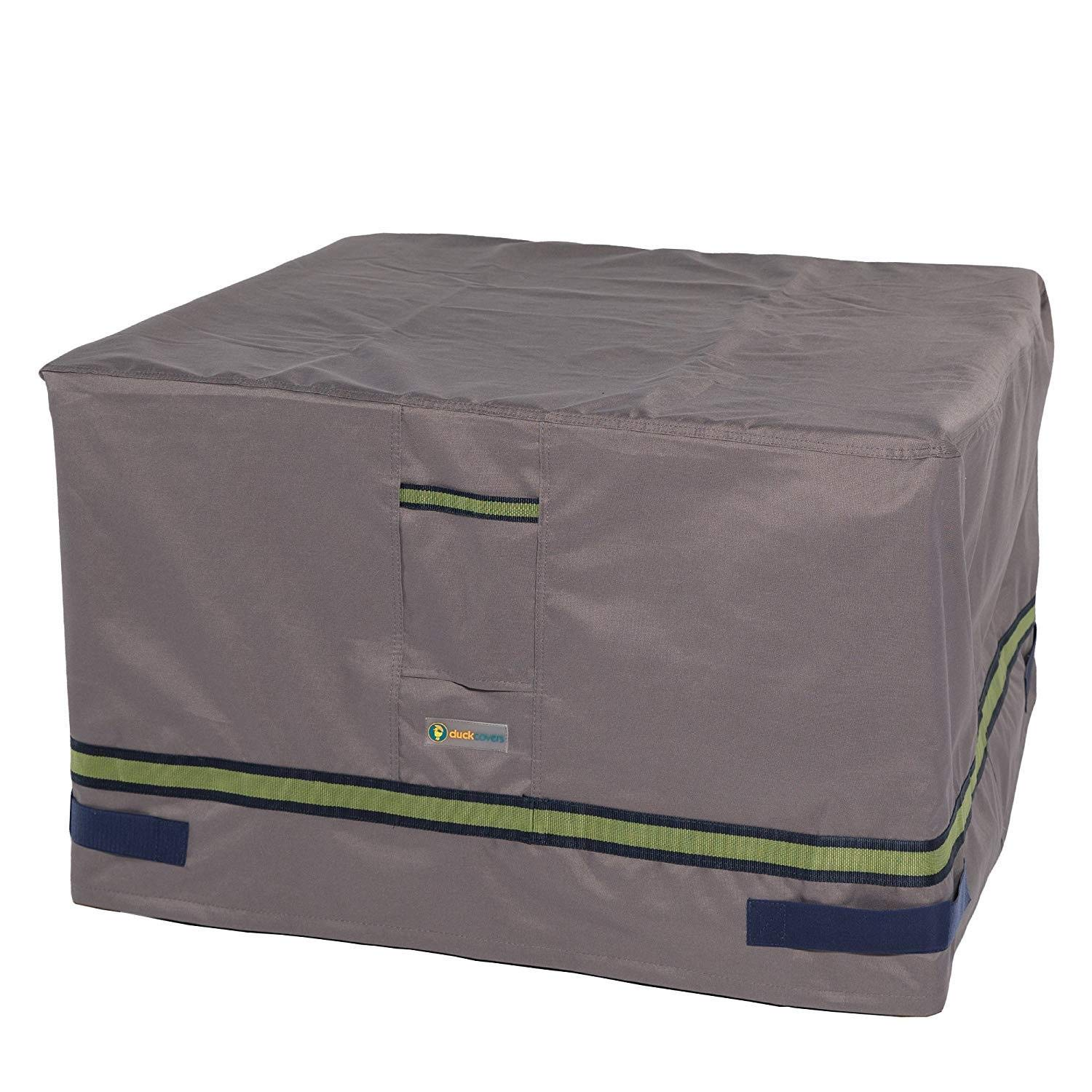 Duck Covers Soteria Rainproof 32'' Square Fire Pit Cover