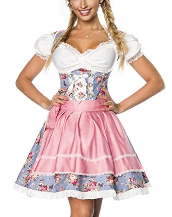d0783e4ba9178 Sexy Dirndl Trachtenmode Oktoberfest Wiesn Tracht Kleid Trachten ...