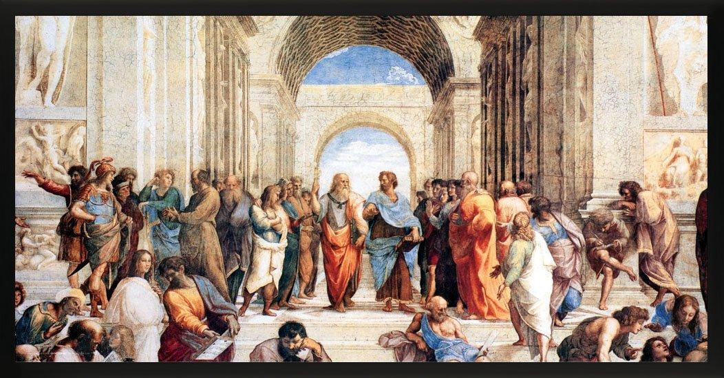 Unframed 12x24 Poster Culturenik Raphael School of Athens Renaissance Fine Art Print