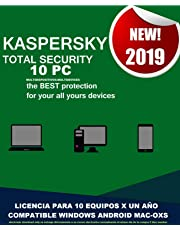 KASPERSKY TOTAL SECURITY 2019 10-PC