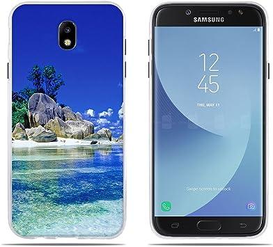 DIKAS Pare Funda Samsung Galaxy J7(2017) J730F/J7 Pro, Gel de ...