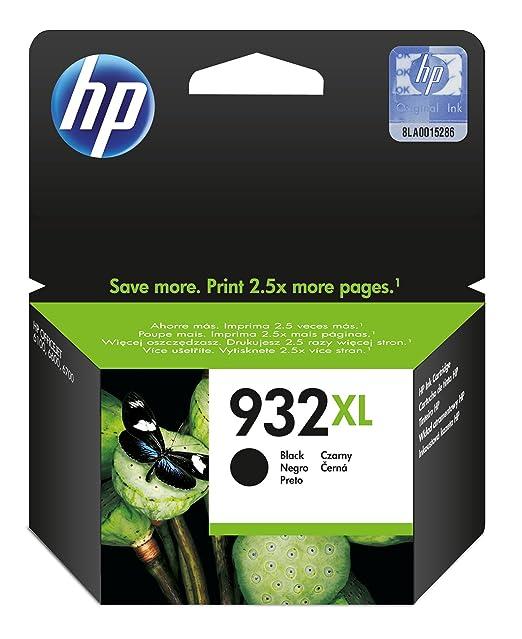 HP 932XL High Yield Black Ink Cartridge Ink Cartridges at amazon