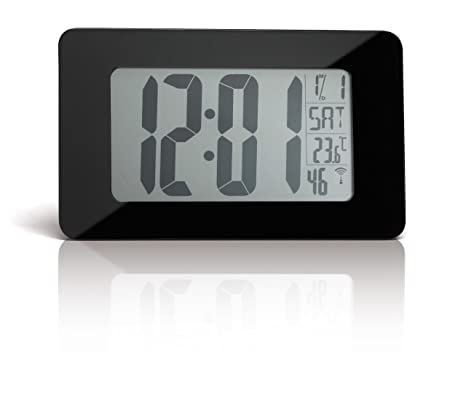 Addex AR880/N - Reloj digital (cristal, hora automática por radio)