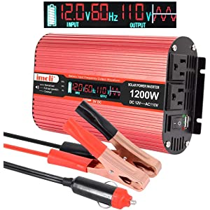 Imoli 1200 Watt Pure Sine Wave Inverter