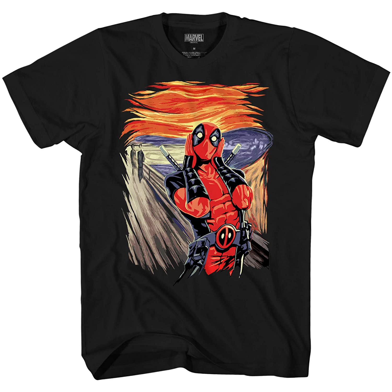 Funny Deadpool  Graphics T Shirt Mens Womens Kids all sizes Cotton Tee Shirts