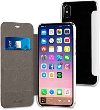 Muvit Folio - Carcasa Blanca: Apple iPhone X/XS: Amazon.es ...